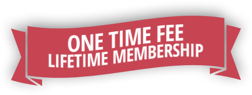 One Time Fee, Lifetime Membership